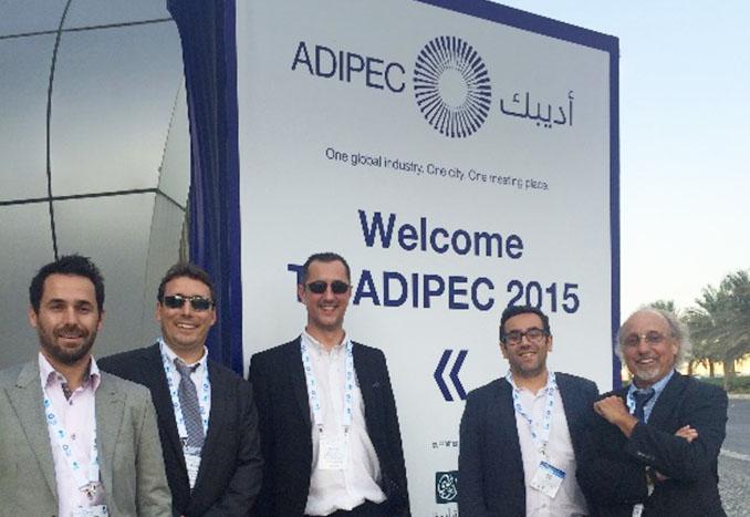 ADIPEC_2015_DF team