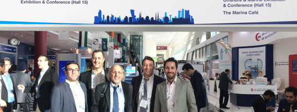 Delta Forst and our French partners from Delta-Techniques at ADIPEC