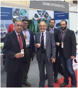 From left to right: Fawzi A.Algosaibi, Rajeev Kumar, Jean-Pierre Fontanille, Julien Jean & Rudy Caramel.